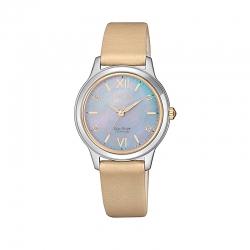 Orologio da polso solo tempo per donna, collezione SUPER TITANIO di Citizen.