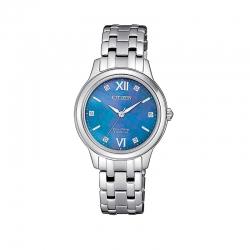 Orologio da polso solo tempo per donna, collezione SUPER TITANIUM di Citizen.