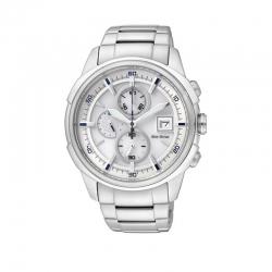 Orologio Cronografo della collezione Crono Racing di Citizen. Movimento Eco-Drive a carica luce infinita.