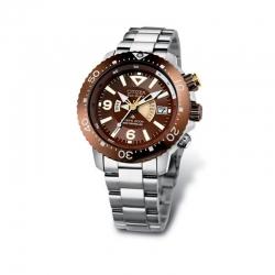 Orologio da uomo Radiocontrollato Diver`s subacqueo professionale certificato ISO 6425 di Citizen.