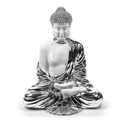 Complemento d'arredo Buddha Silver di Sequenze Italia.
