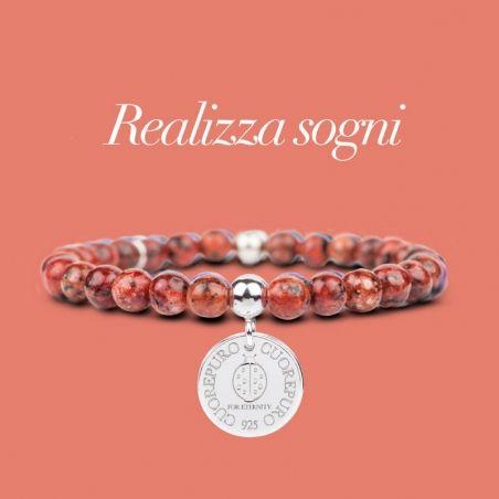 STONE – Linea Lucky – Bracciale Realizza Sogni - Cuorepuro.