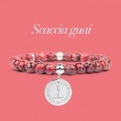 STONE – Linea Lucky – Bracciale Scaccia Guai - Cuorepuro.
