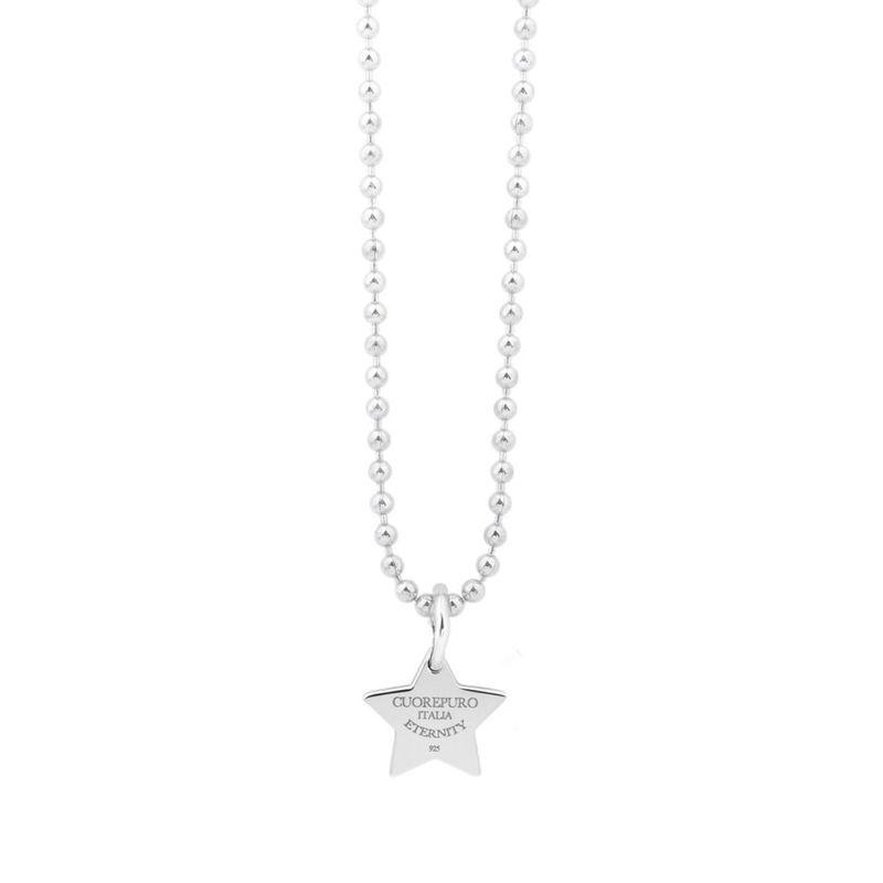 Stelle dei desideri - Collana argento cm 45 - Cuorepuro.