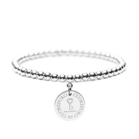 Cerchio della Vita – Bracciale elastico con piastra 1.5cm – Chiave