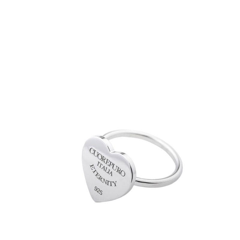 Anello 04 Linea Classica della Collezione Amore Eterno in argento 925.