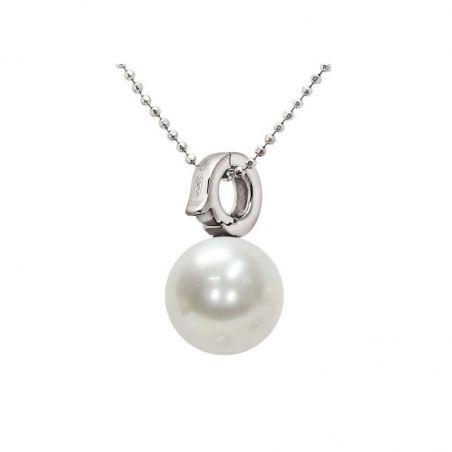 Pendente con catena in Argento 925‰ Perla piena perlagione - CS111F, collezione Mod di Mayumi.