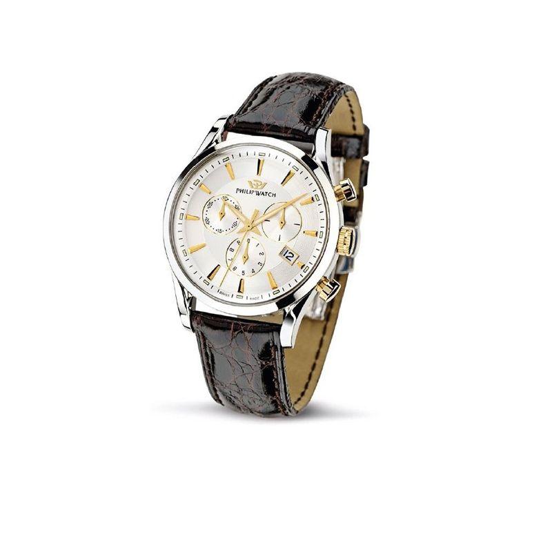 OROLOGIO PHILIP WATCH SUNRAY - R8271908002, cronografo da uomo - Philip Watch experience: Tradition. Swiss made.