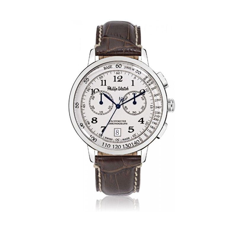 OROLOGIO GRAND ARCHIVE 1940 - R8271698004 - Philip Watch experience Tradition, cronografo da uomo made in Swiss.
