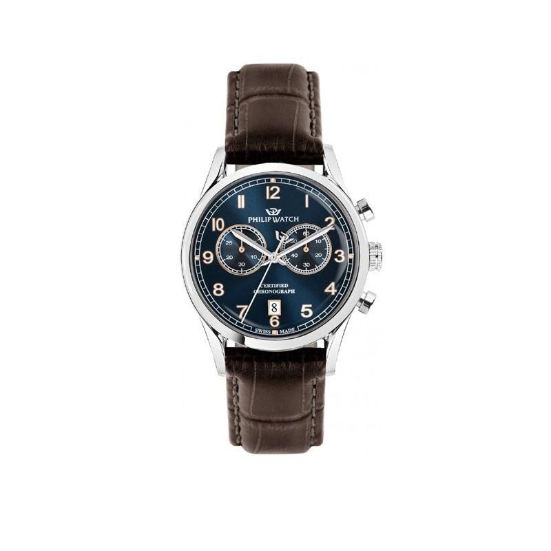 Orologio Philip Watch Sunray - R8271908005 - orologio da uomo multifunzione, Philip Watch experience Tradition, Swiss Made.