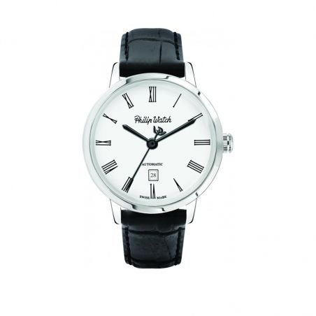 OROLOGIO PHILIP WATCH GRAND ARCHIVE 1940 - R8221598005 - orologio da uomo, Philip Watch experience Tradition, Swiss made.