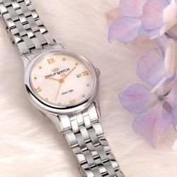 Orologio da donna della collezione Marilyn, Philip Watch experience: Elegance, made in Swiss.