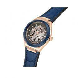 Orologio da polso Maserati della collezione Triconic, da uomo con movimento automatico skeleton calibro Seiko NH70, solo tempo.