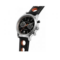Orologio Maserati da uomo della collezione Legend. Movimento al quarzo Vk64 e funzioni di cronografo.