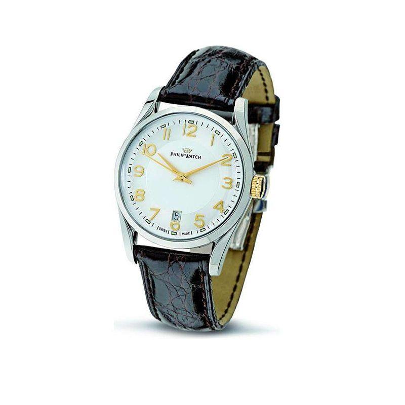 Orologio Philips Watch - R8251680002, da uomo, solo tempo della collezione Sunray, movimento al quarzo. Swiss Made.